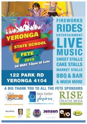 Yeronga Fete A3 Poster